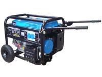 Бензогенератор TSS SGG 6500 EH (электростарт, ручки, колеса)