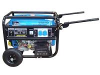 Бензогенератор TSS SGG 7500 EH (электростарт, ручки, колеса)