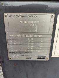 260кВт Atlas Copco QAS 325 в Идеальном состоянии